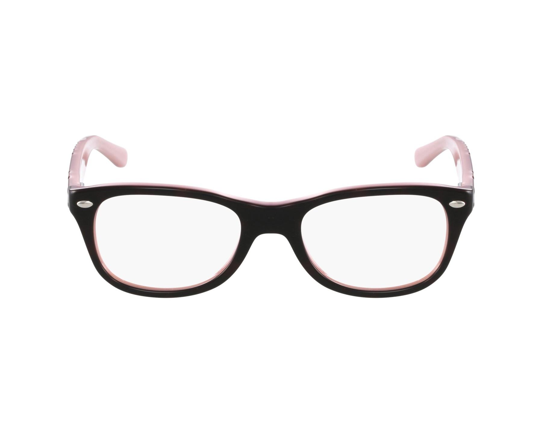 2df56d568a06d9 eyeglasses Ray-Ban RY-1544 3580 48-18 Black Purple profile view