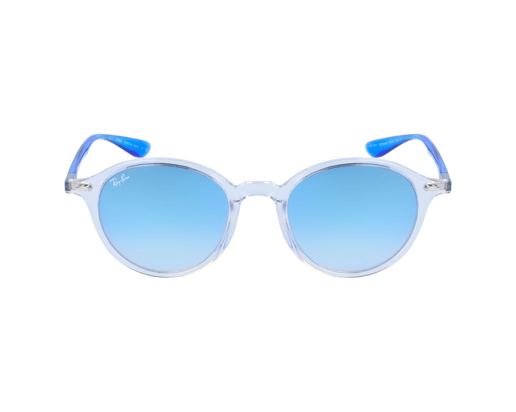 67de965da05 Sunglasses Ray-Ban RB-4237 62894O 50-21 White Blue profile view