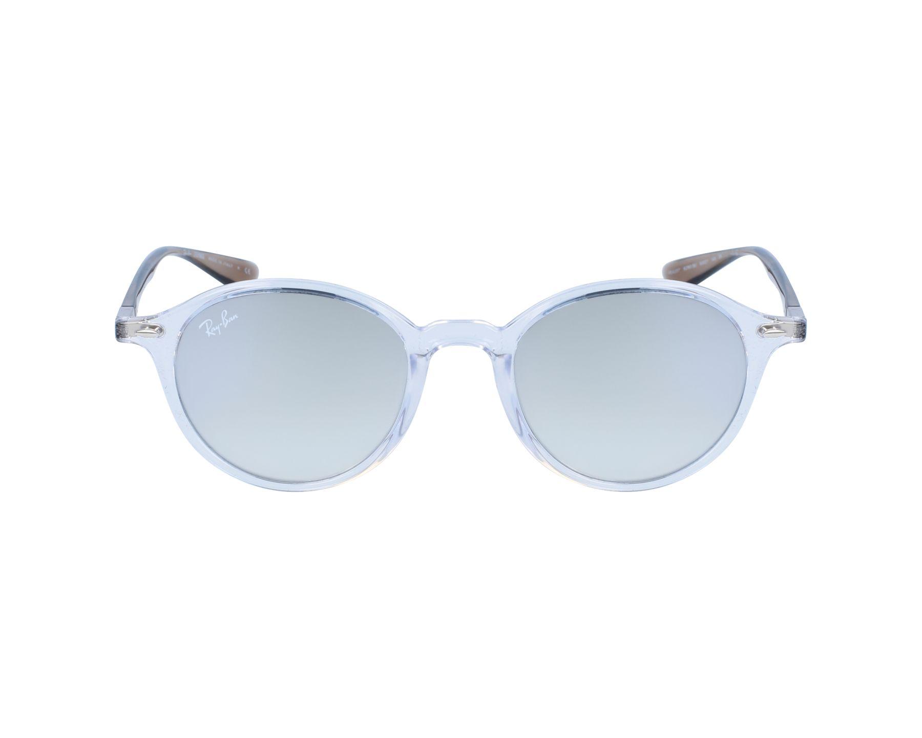 463ac4efeef4fd Sunglasses Ray-Ban RB-4237 62909U 50-21 White Grey profile view