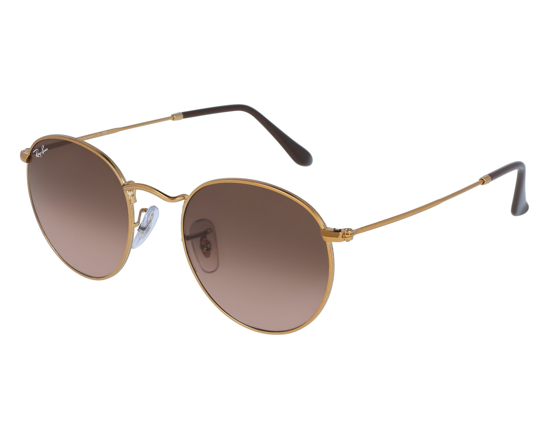 d1aa44ea8e105 Sunglasses Ray-Ban RB-3447 9001 A5 50-21 Gold front view