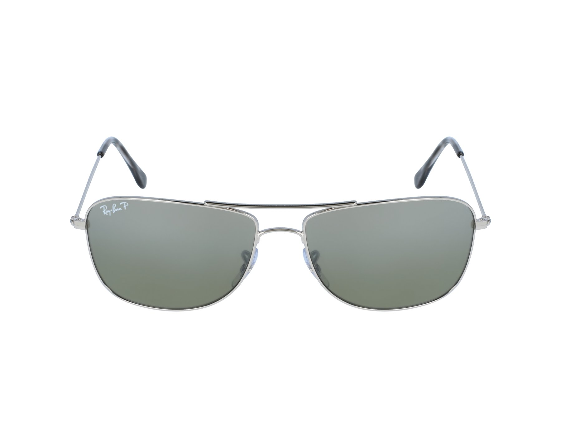 2f9dff1330 thumbnail Sunglasses Ray-Ban rb-3543 003 5J 59-16 Silver profile