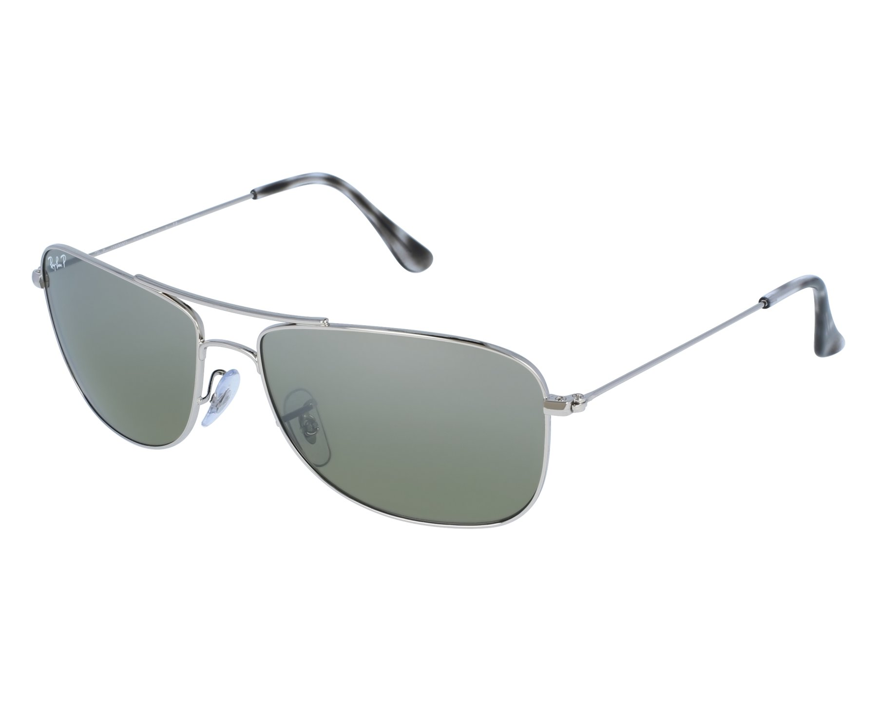 6af72a5f0ec Sunglasses Ray-Ban rb-3543 003 5J 59-16 Silver front view