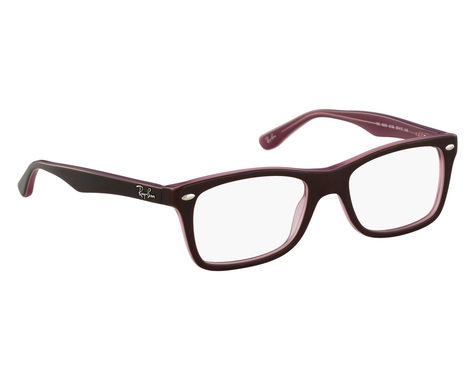 732f21fd8f eyeglasses Ray-Ban RX-5228 2126 50-17 Purple front view