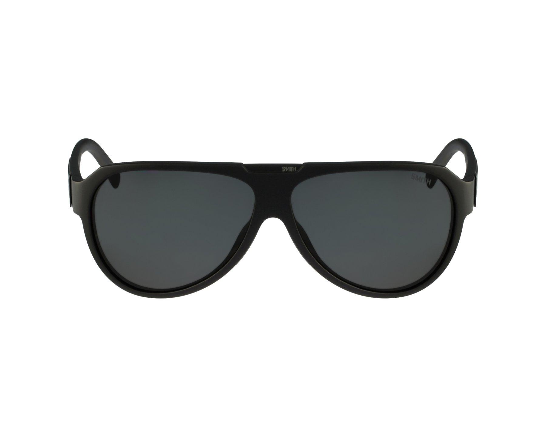 6fce1e0796ee6 Sunglasses Smith Optics Soundcheck DL53G - Black profile view