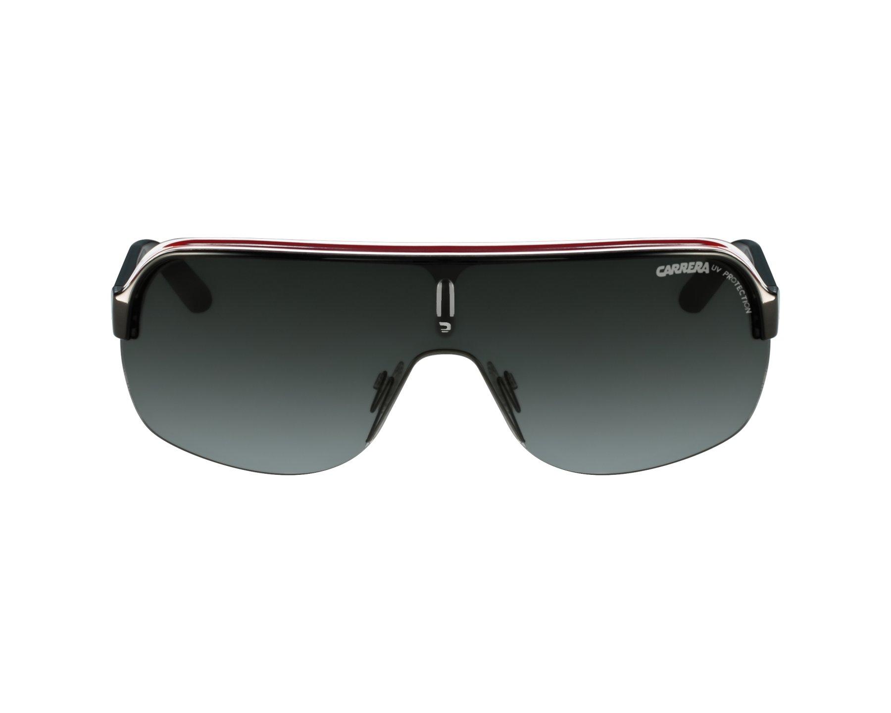 0bd6840de8e2d Sunglasses Carrera Topcar-1 KB0 PT - Red Crystal profile view