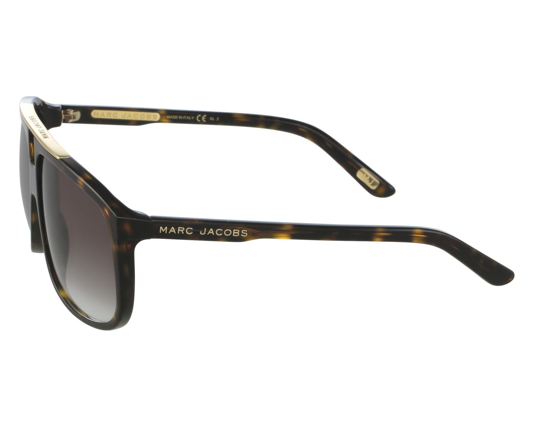 67b16b1d163c Sunglasses Marc Jacobs MJ-252-S 086/JS 60-13 Havana front