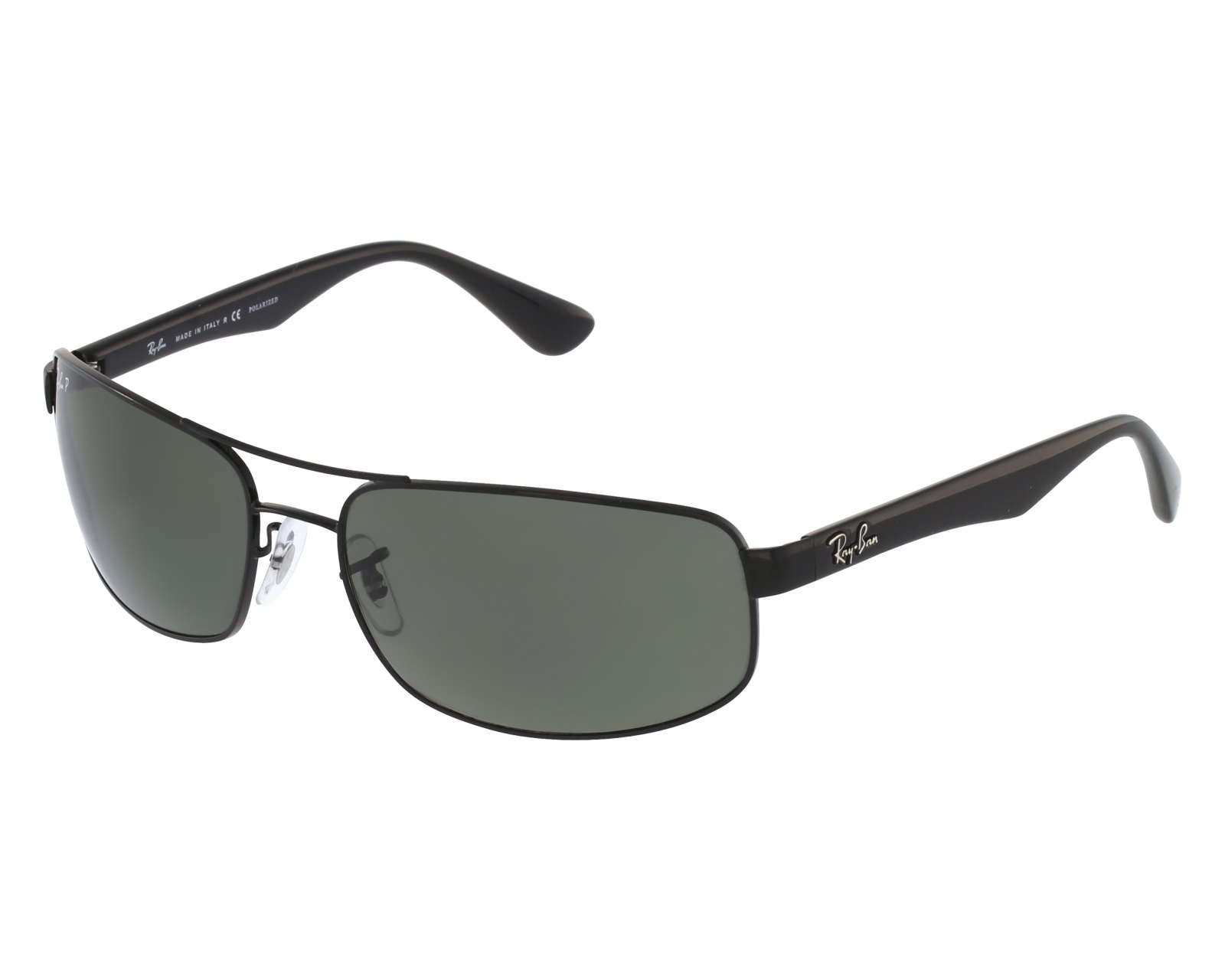 Sunglasses Ray-Ban RB-3445 002 58 61-17 Black front view 07441896c0