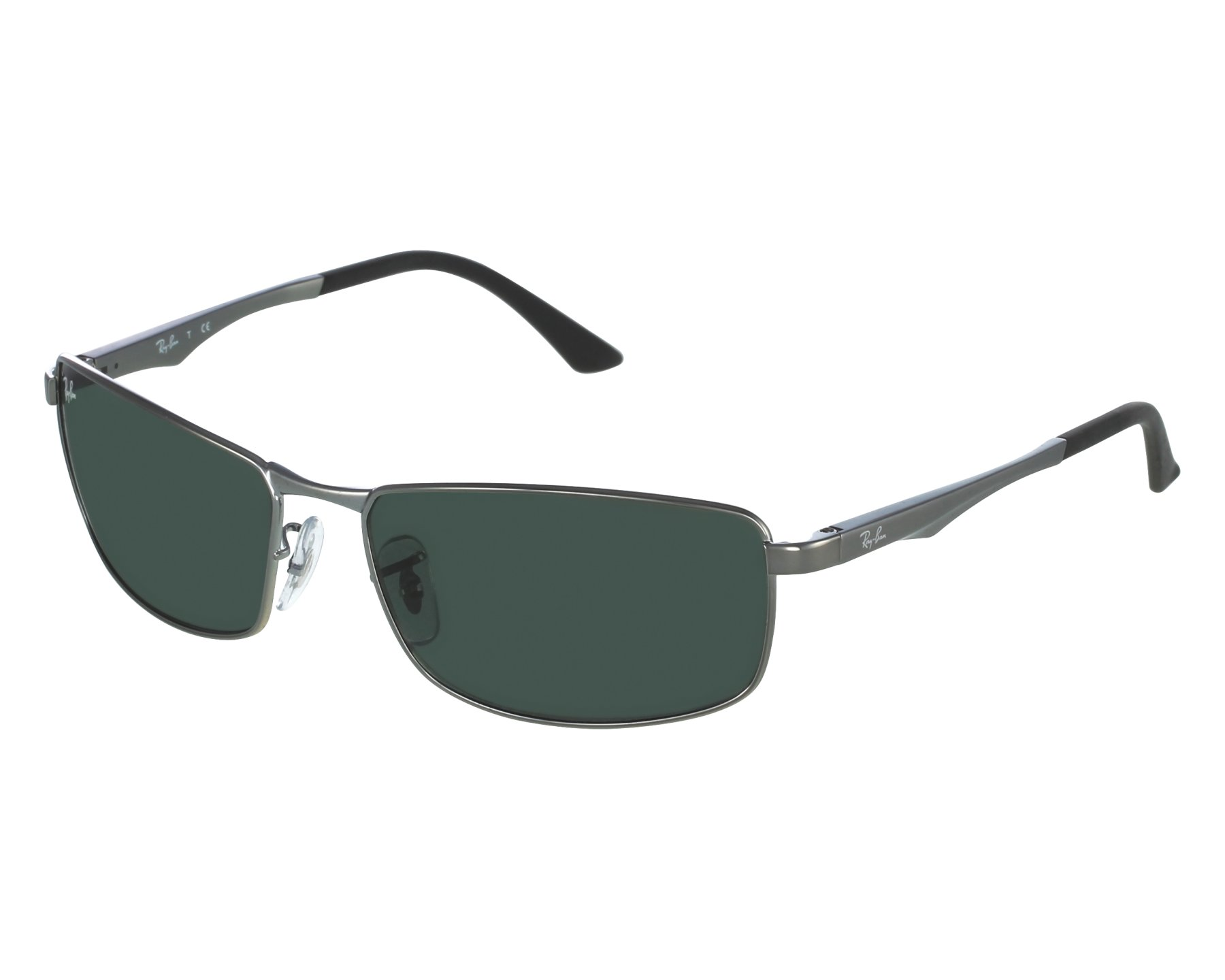 fb0fe11ed7 thumbnail Sunglasses Ray-Ban RB-3498 004 71 - Gun front view
