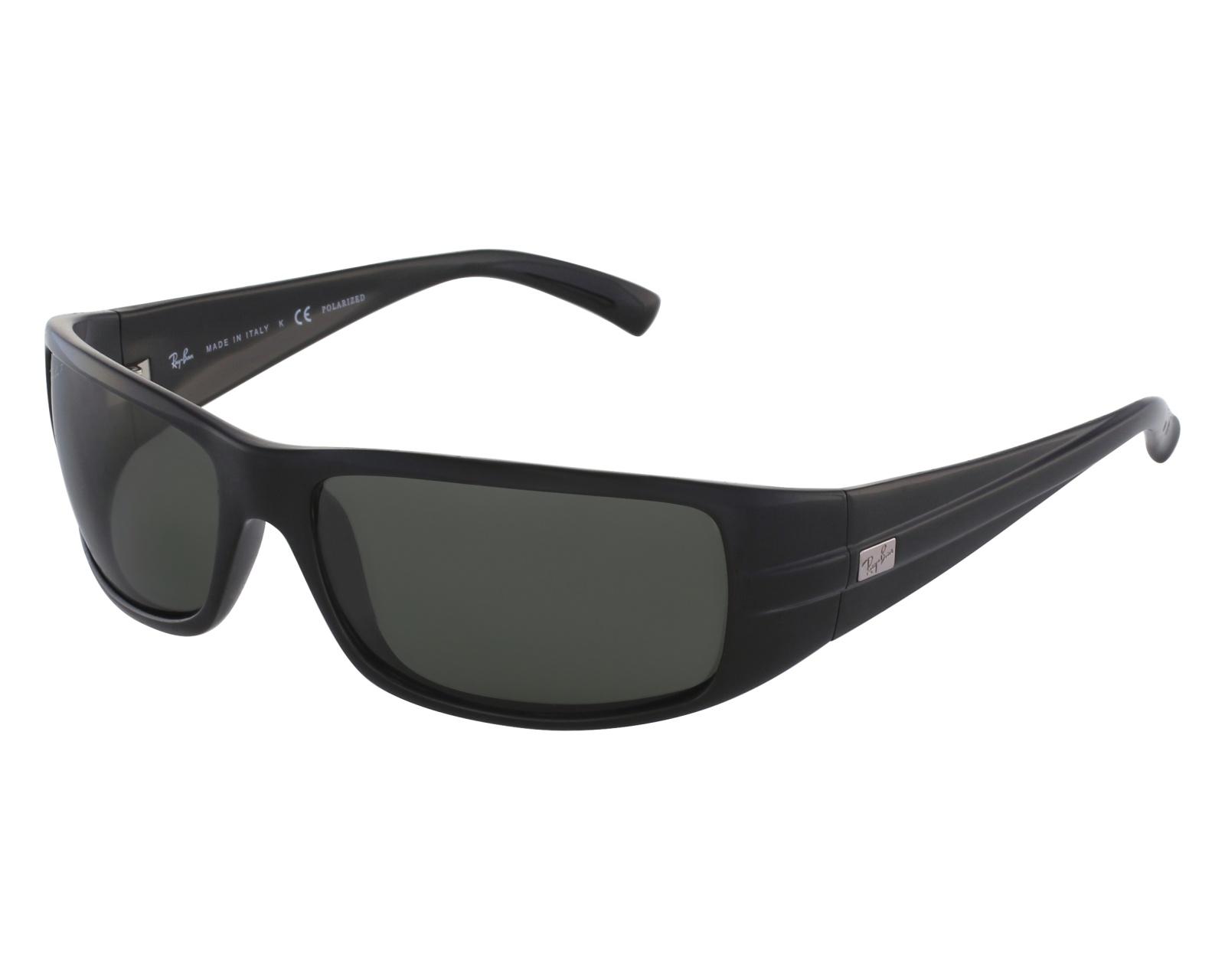 0363cfe79b6 thumbnail Sunglasses Ray-Ban RB-4057 601 58 - Black front view