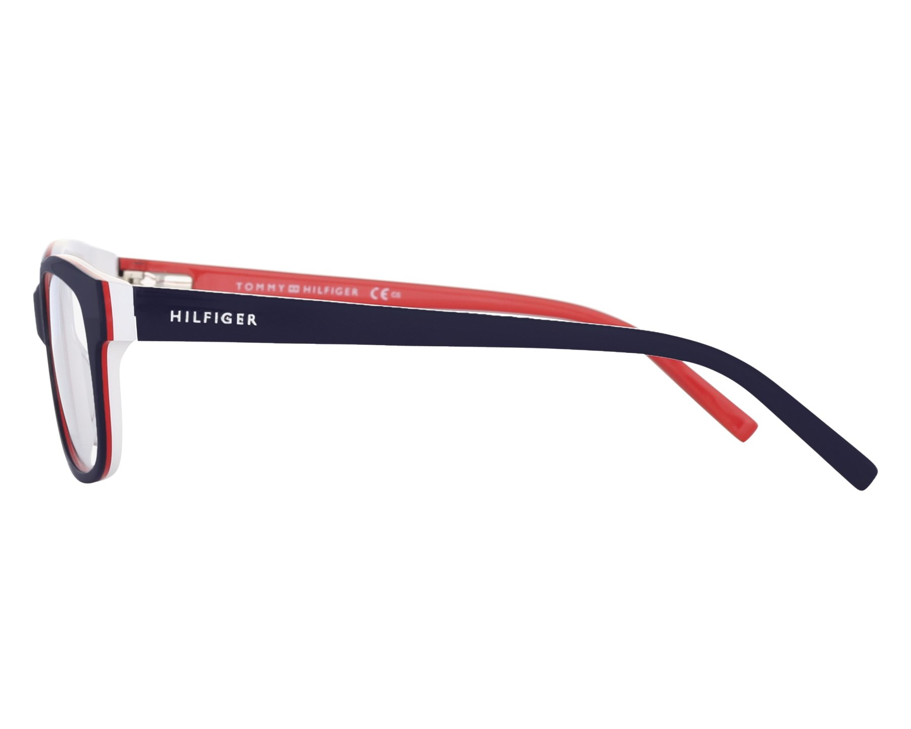 eyeglasses Tommy Hilfiger TH-1017 UNN - Blue Red front view 27539b61e77