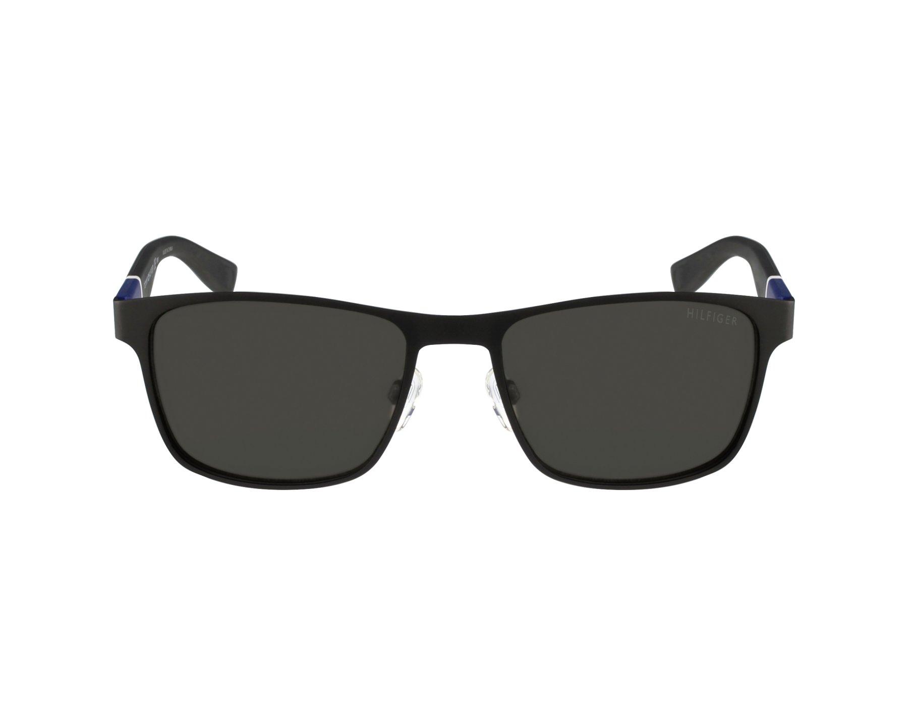 4a0e740351 Sunglasses Tommy Hilfiger TH-1283-S FO3 NR - Black Blue profile view