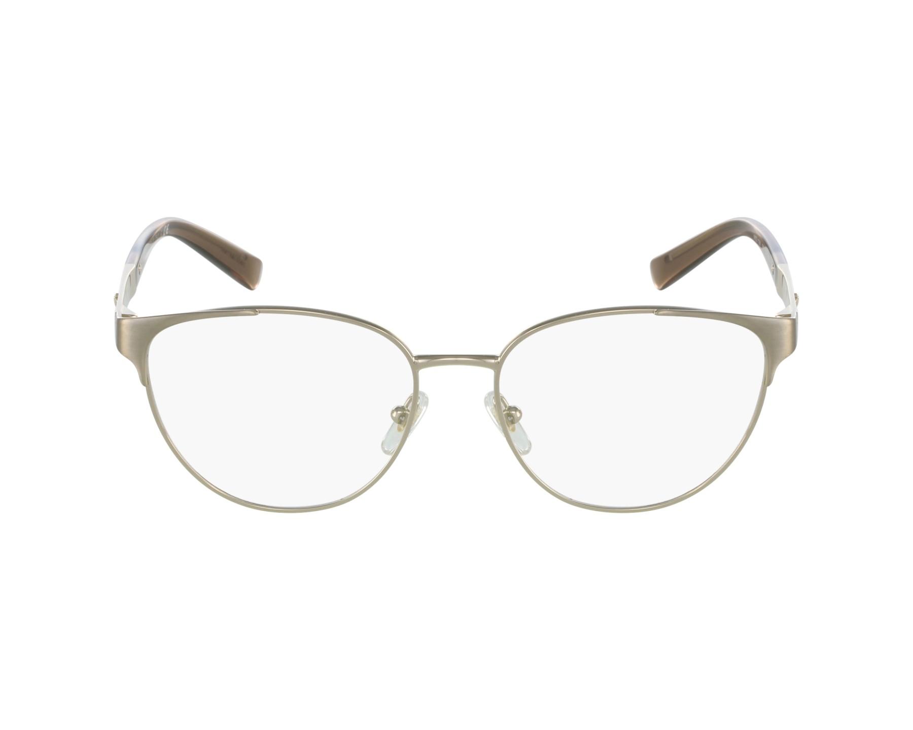 eyeglasses Versace VE-1238 1339 52-16 Gold profile view
