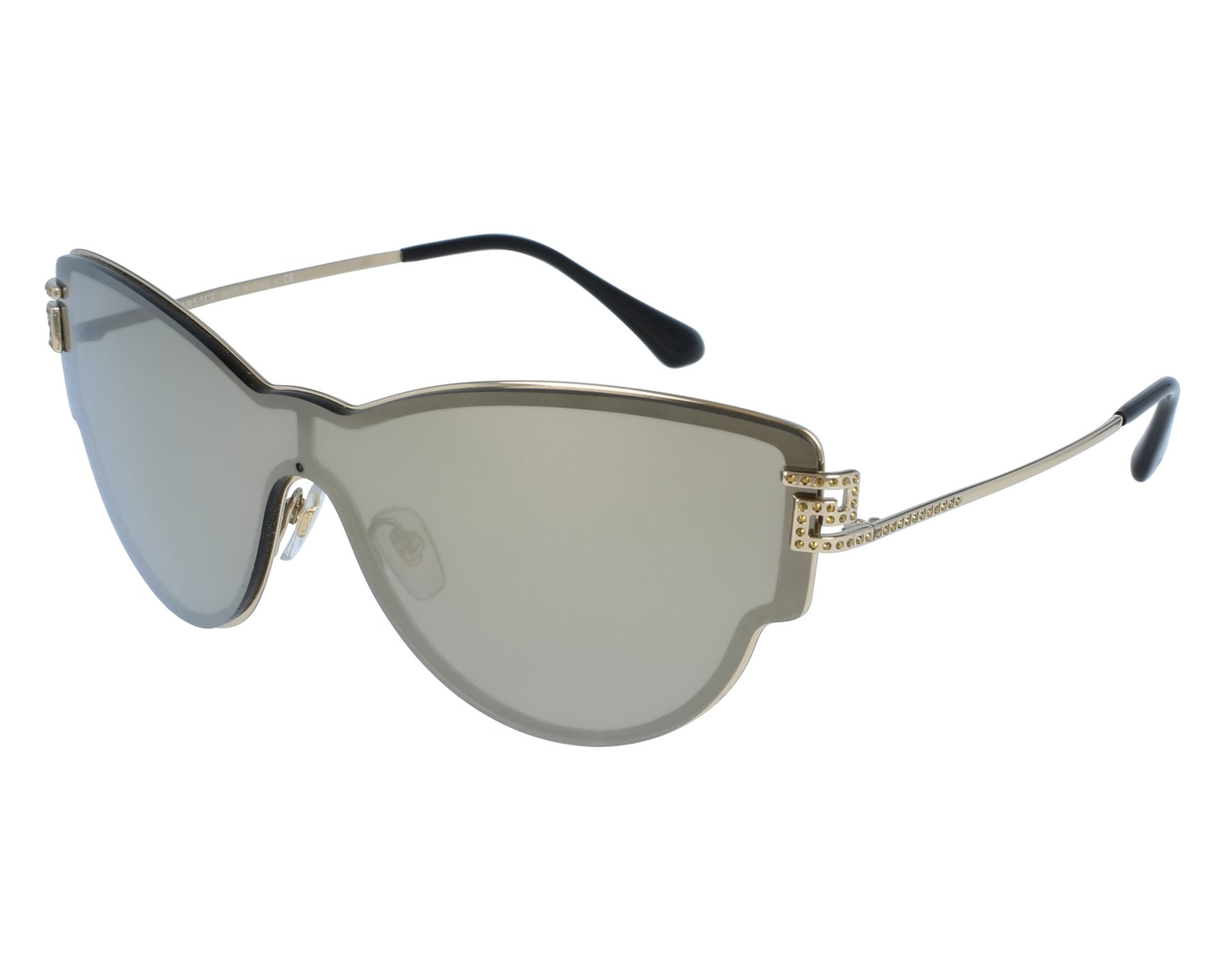 Sunglasses Versace VE-2172-B 1252/5A 99-11 Gold front view