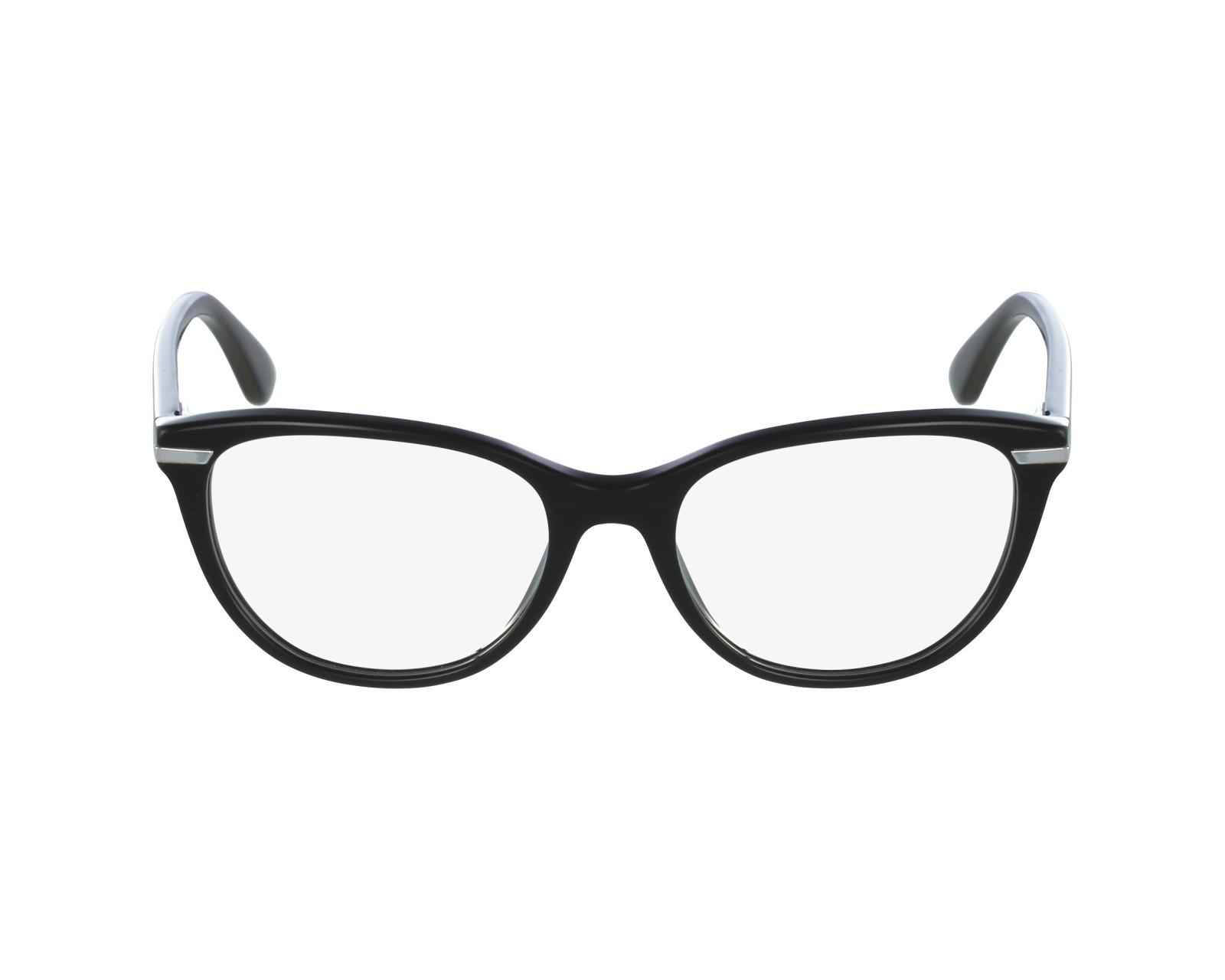 721aedf6d7e eyeglasses Vogue VO-2937 W44 51-17 Black Silver profile view