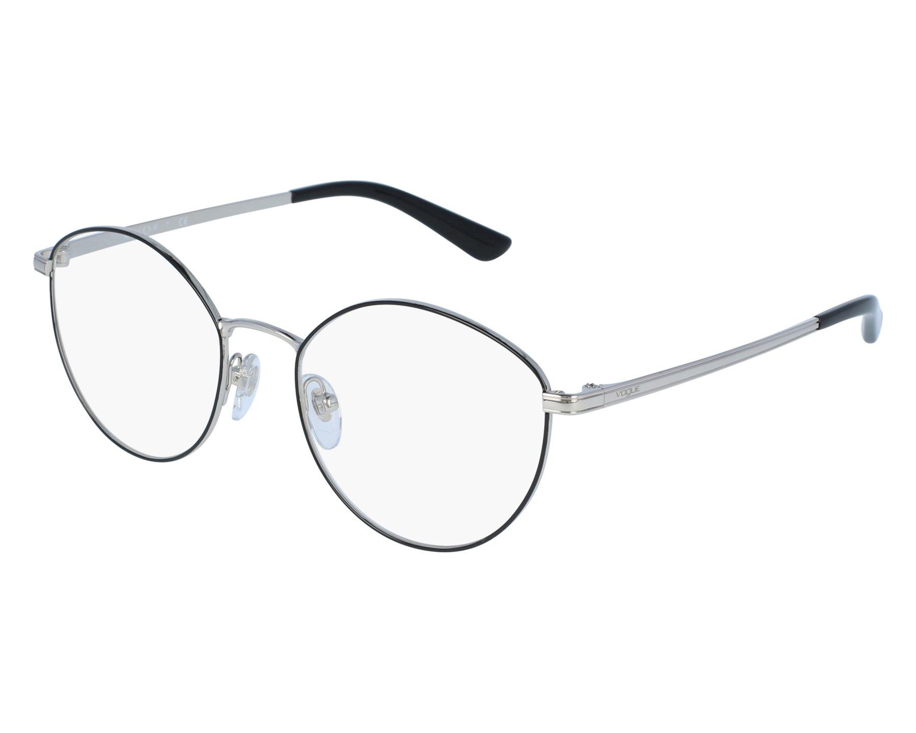 Vogue VO4025 Eyeglass Frames 352-51 Black//Silver