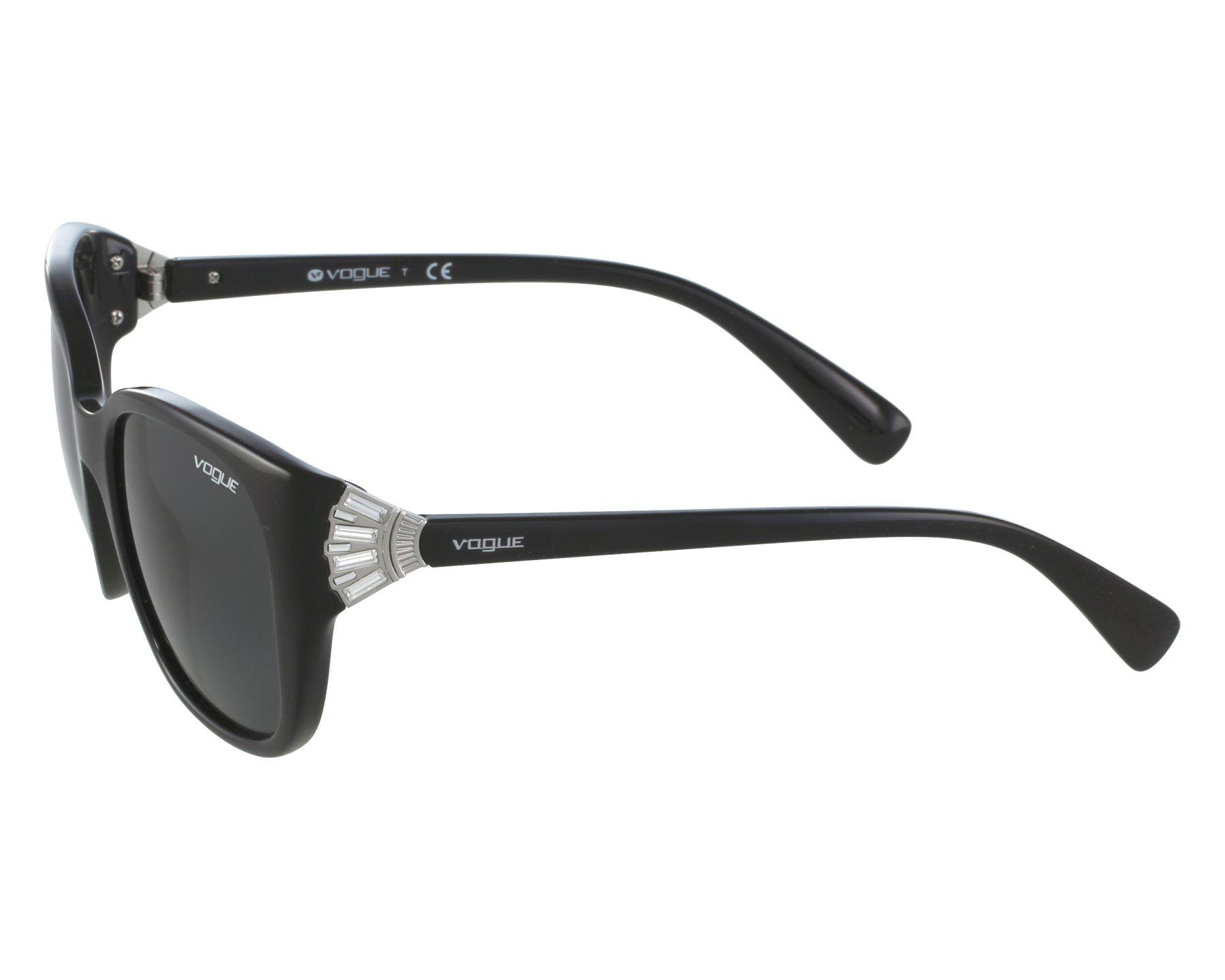 103d7a804965b Sunglasses Vogue VO-5061-SB W44 87 53-20 Black front view