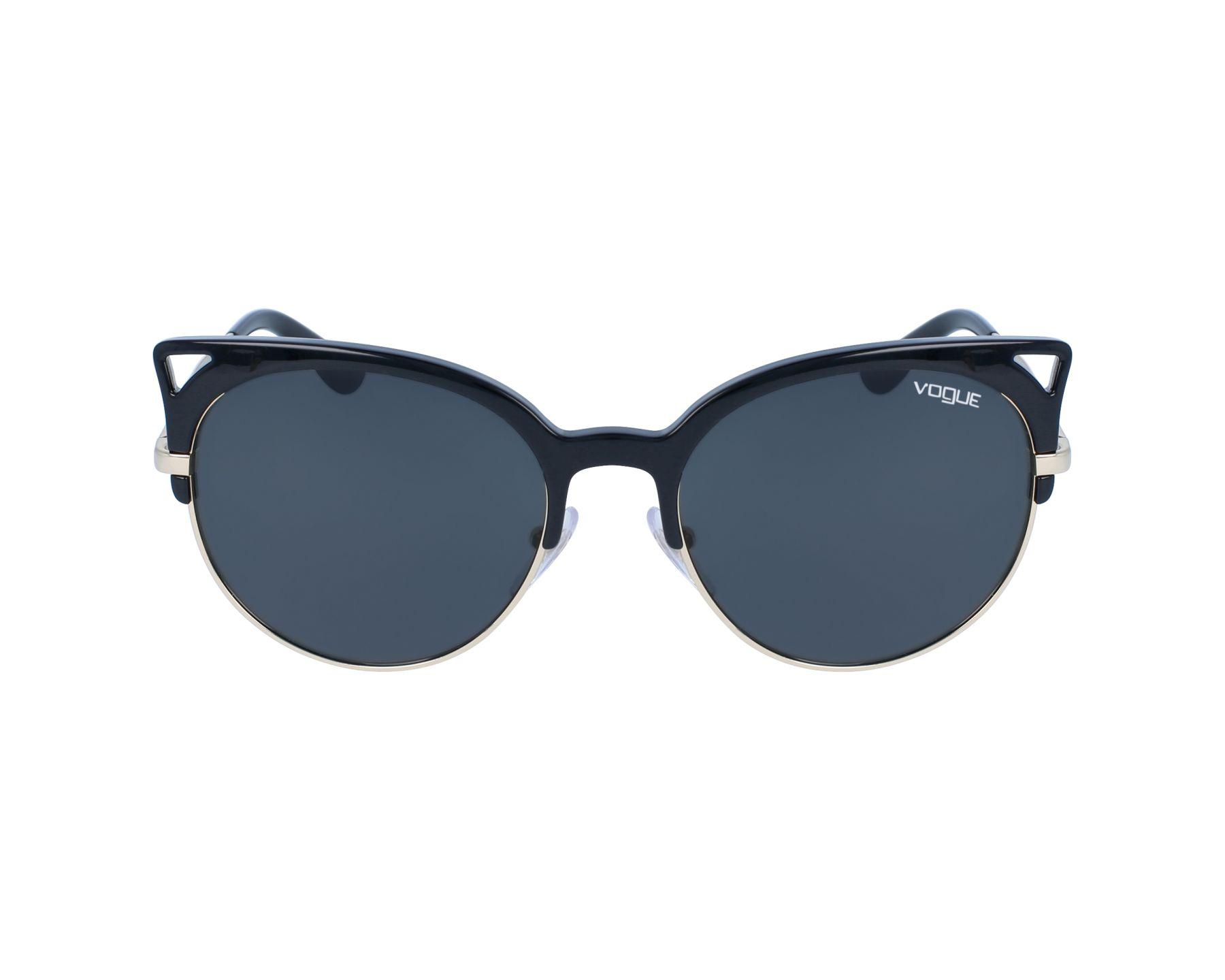 992c7f119a6b0 Sunglasses Vogue VO-5137-S W44 87 55-19 Black Gold profile