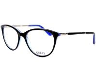 596153644c5 Guess eyeglasses GU-2565 001 52-17 Black Blue