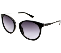 dfaf3d30203 Guess Sunglasses GU-7459 01B 52-20 Black Silver