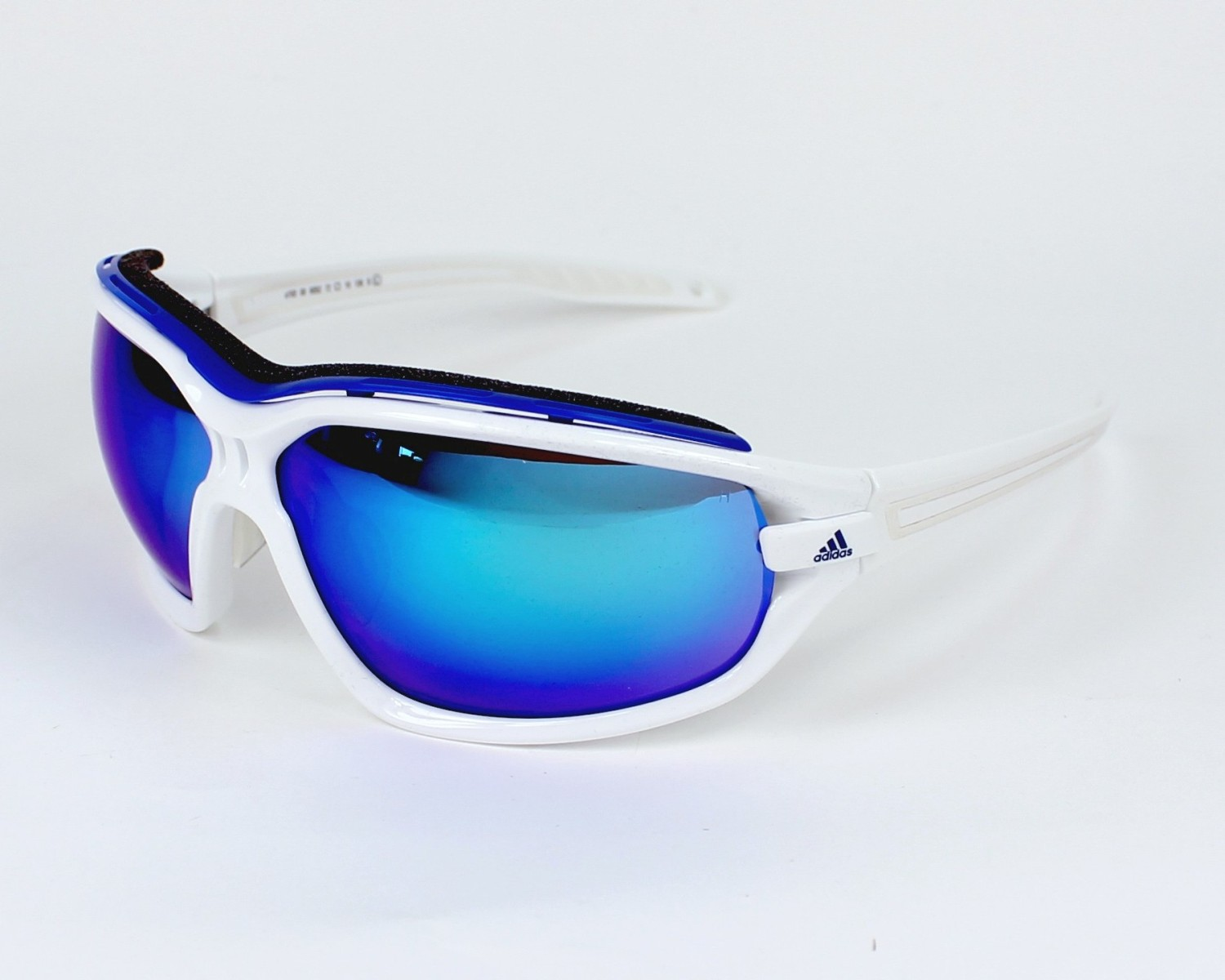 e21e06d542 Sunglasses Adidas A-193 6052 72-10 White Blue profile view
