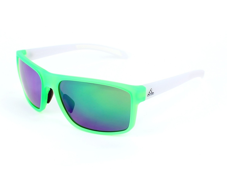 d8b5b60ede6 Sunglasses Adidas A-423 6056 - Green White profile view