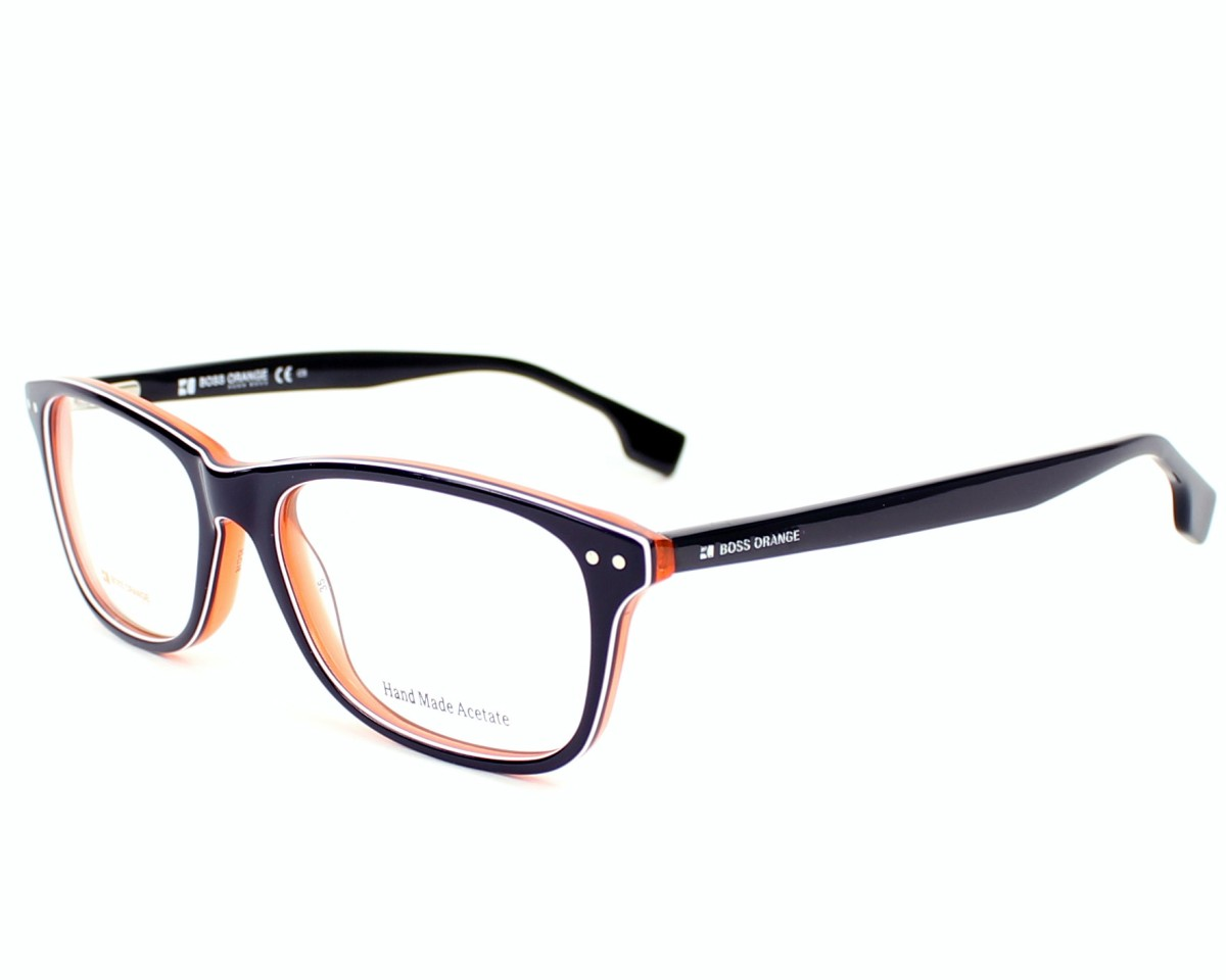 751e31298e0 eyeglasses Boss Orange BO-0056 XCJ - Blue White profile view