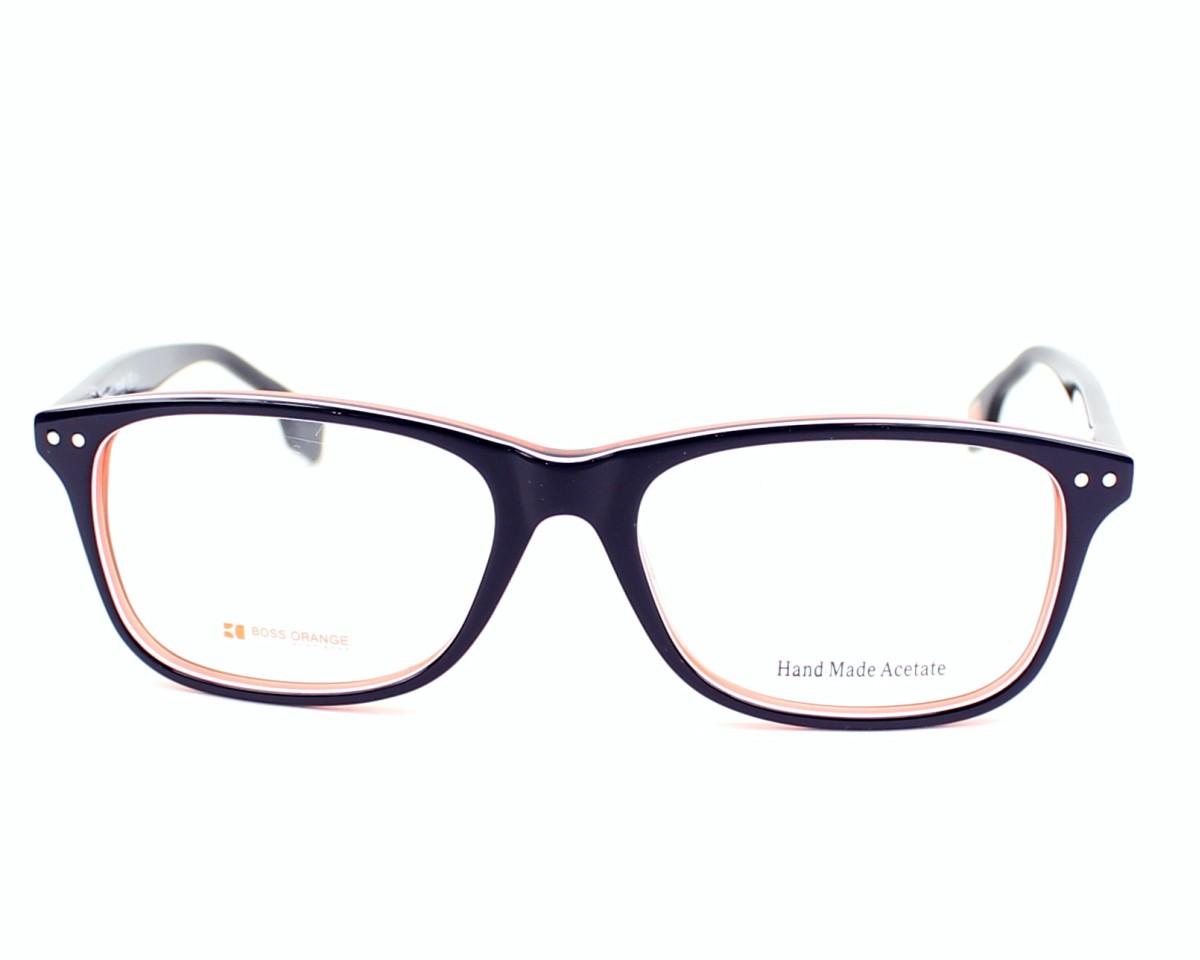 2d23101ada8 eyeglasses Boss Orange BO-0056 XCJ - Blue White front view