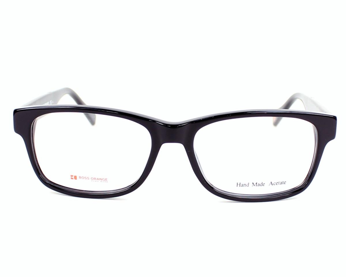 d3c699de01 eyeglasses Boss Orange BO-0084 6EC 52-16 Black front view