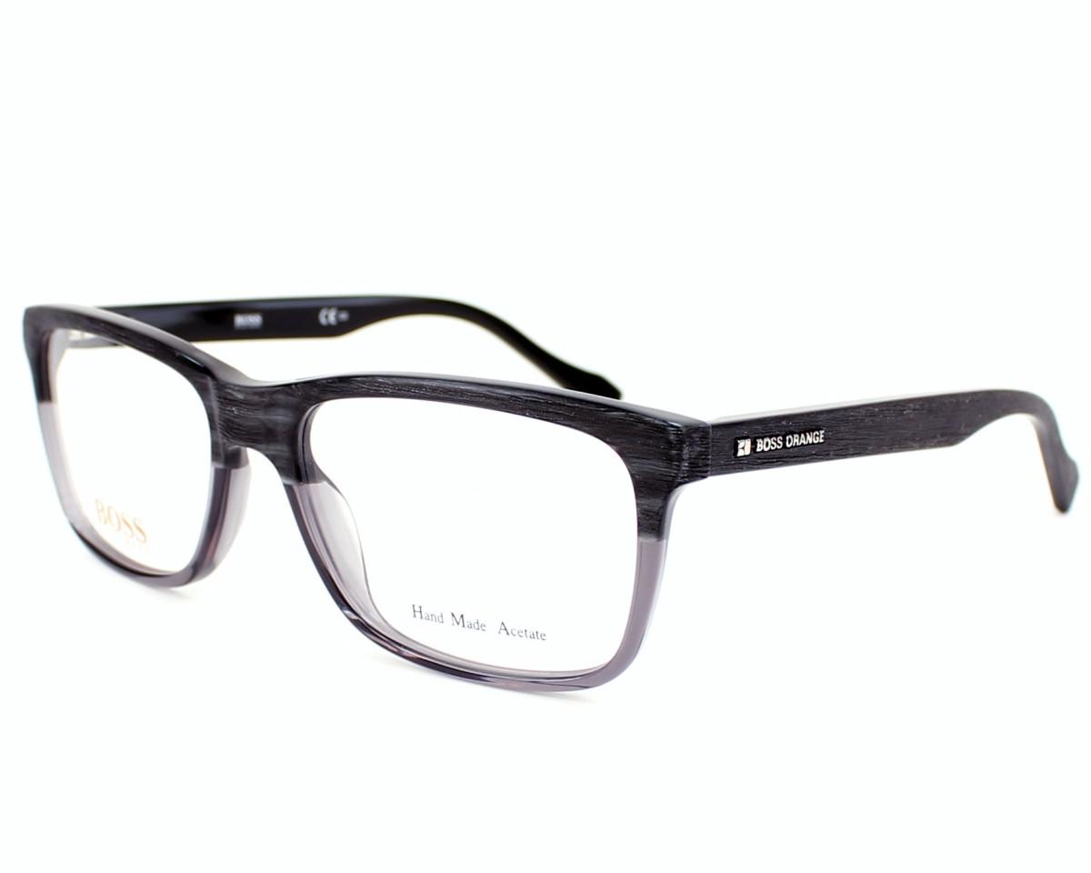 boss orange eyeglasses grey bo 0150 6tk visionet us. Black Bedroom Furniture Sets. Home Design Ideas