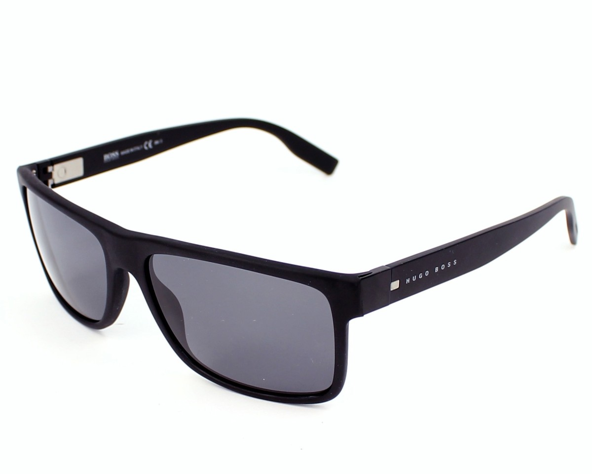 Hugo Boss Sunglasses Boss 0599 S T70 Td Black Visio Net Com