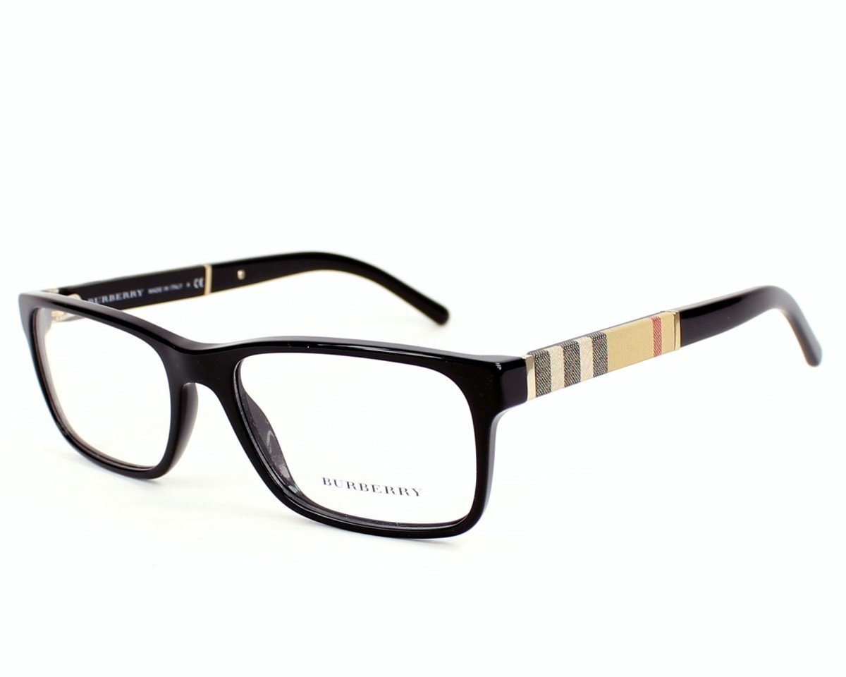 eyeglasses Burberry BE-2162 3001 53-17 Black profile view