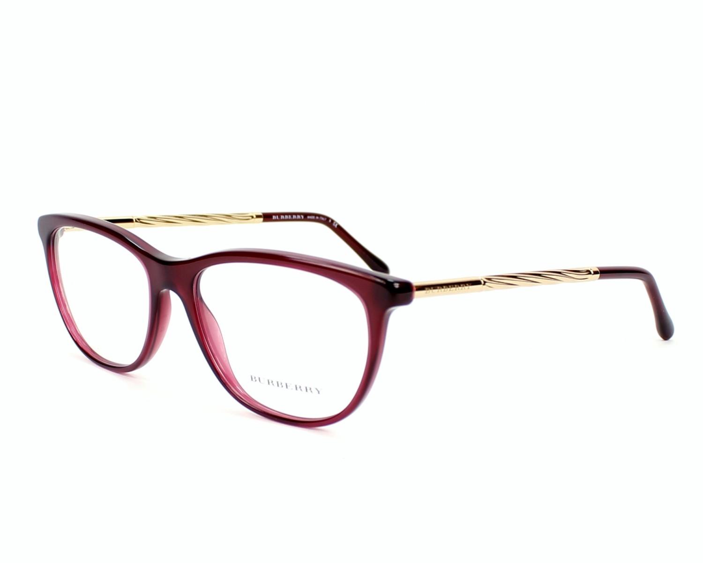 eyeglasses Burberry BE-2189 3014 52-16 Bordeaux Gold profile view 5ac4b983d56d