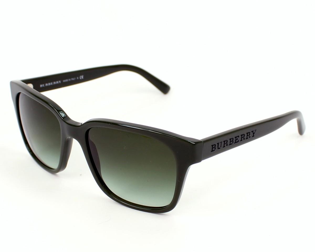 7eade4de08cd Sunglasses Burberry BE-4140 3373 8E - Green profile view