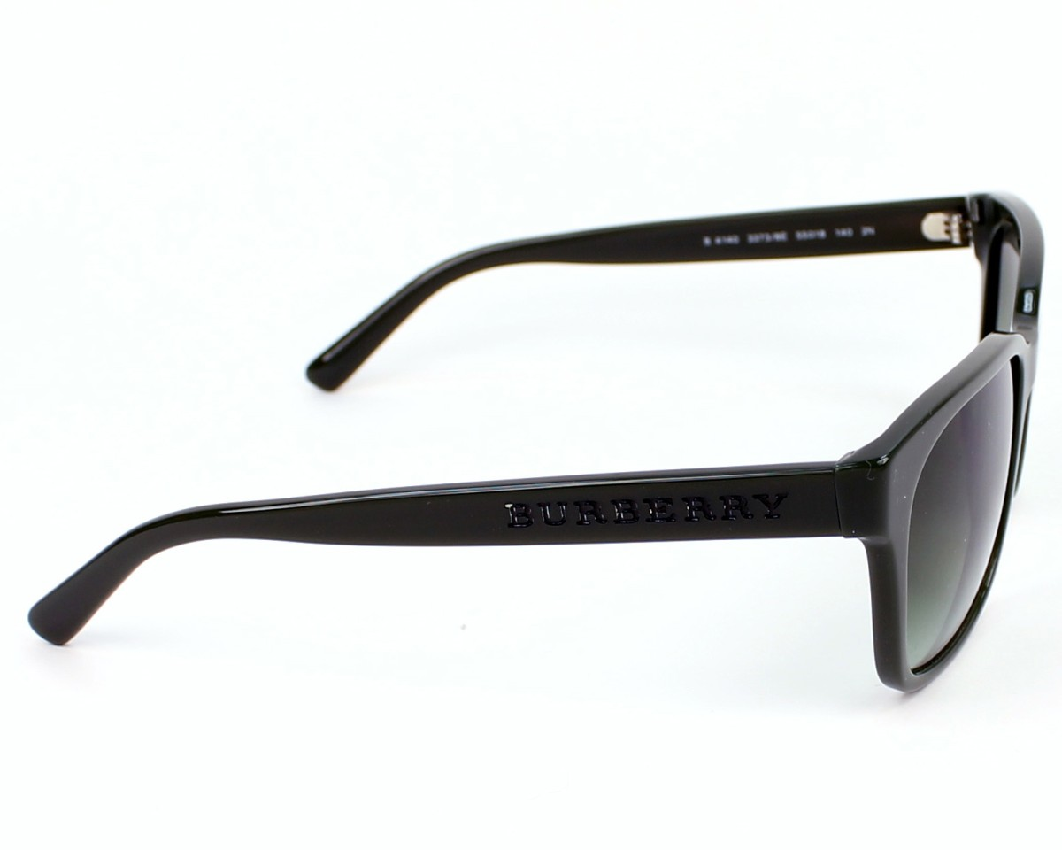 34676020b79b Sunglasses Burberry BE-4140 3373 8E - Green side view