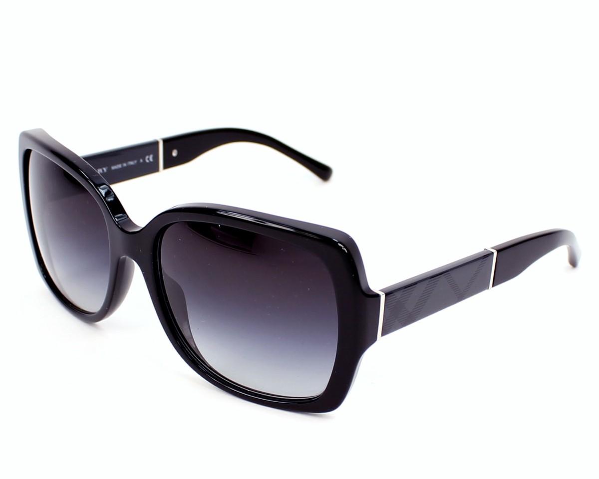 1d80c5a3f3bc Sunglasses Burberry BE-4160 3001 8G - Black profile view