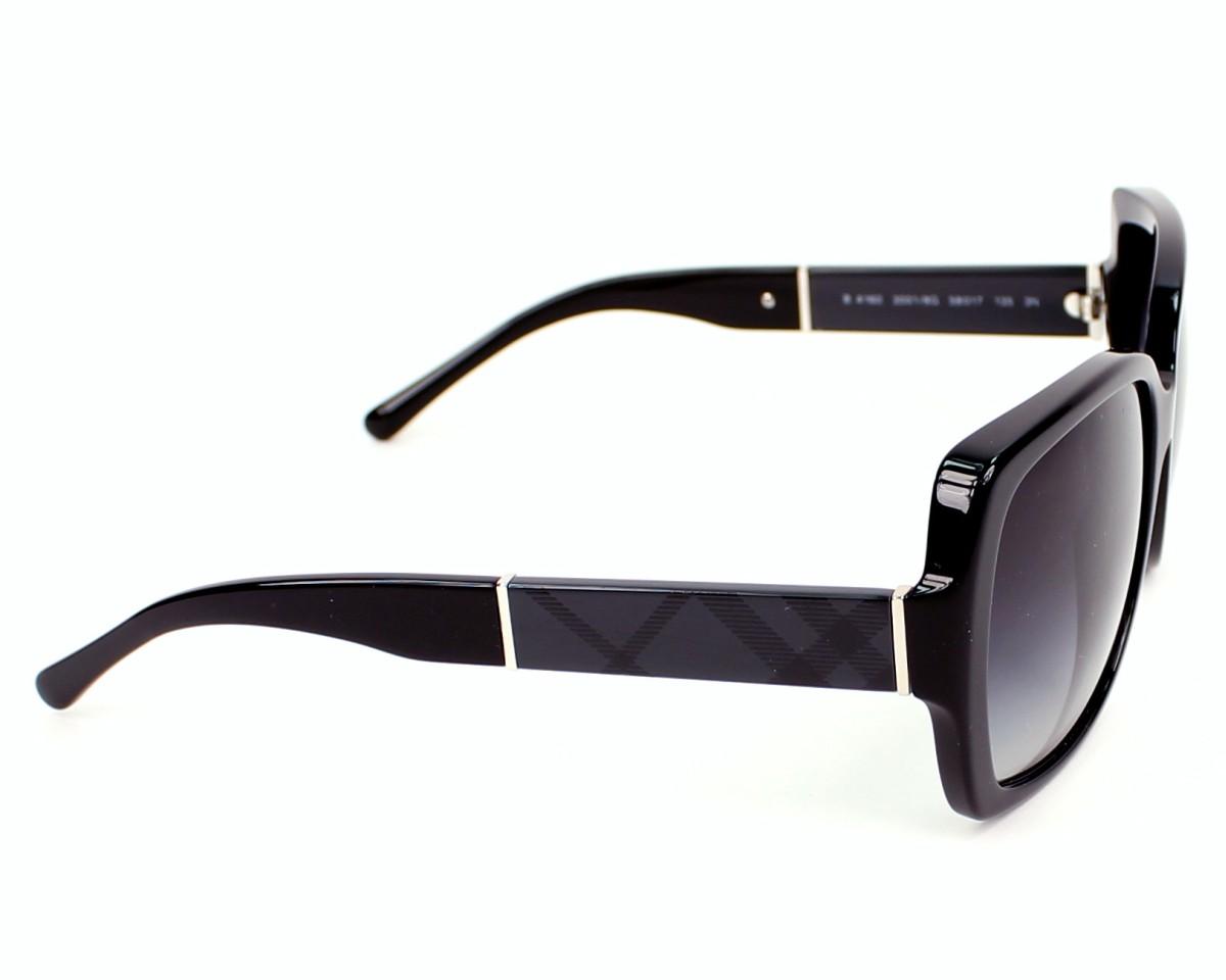 bbc6027e3cbf Sunglasses Burberry BE-4160 3001 8G - Black side view