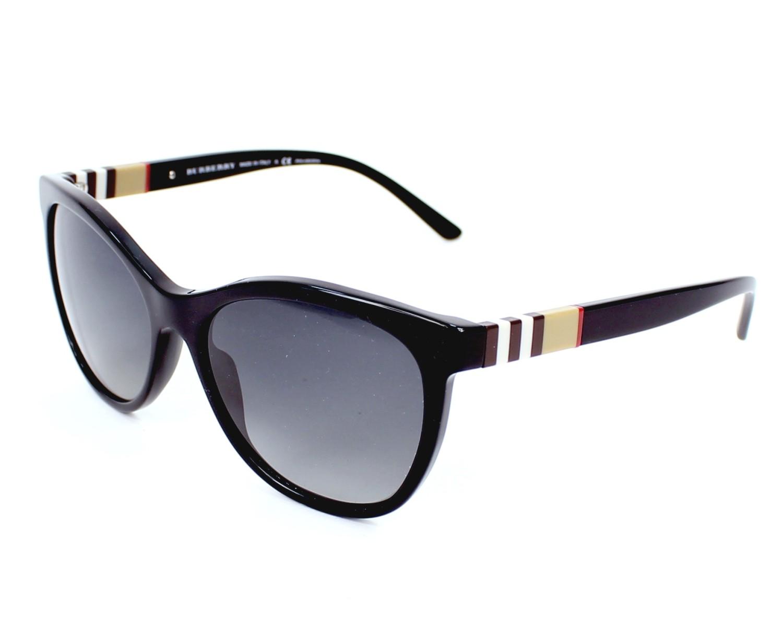 ff2083d0e137 Sunglasses Burberry BE-4199 3001 T3 - Black profile view