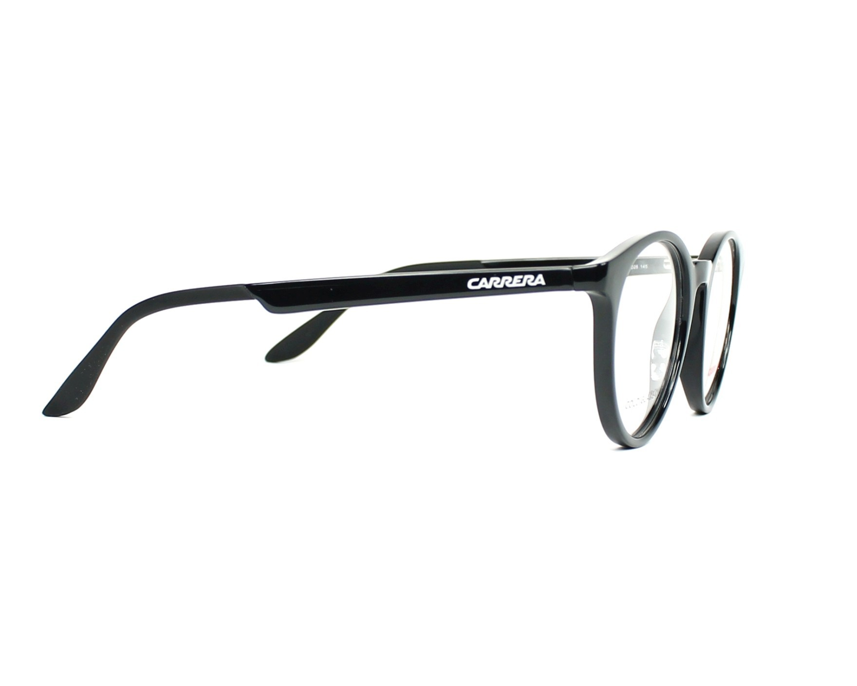 a4c7f47e0e9 eyeglasses Carrera CA-5544 D28 48-20 Black side view