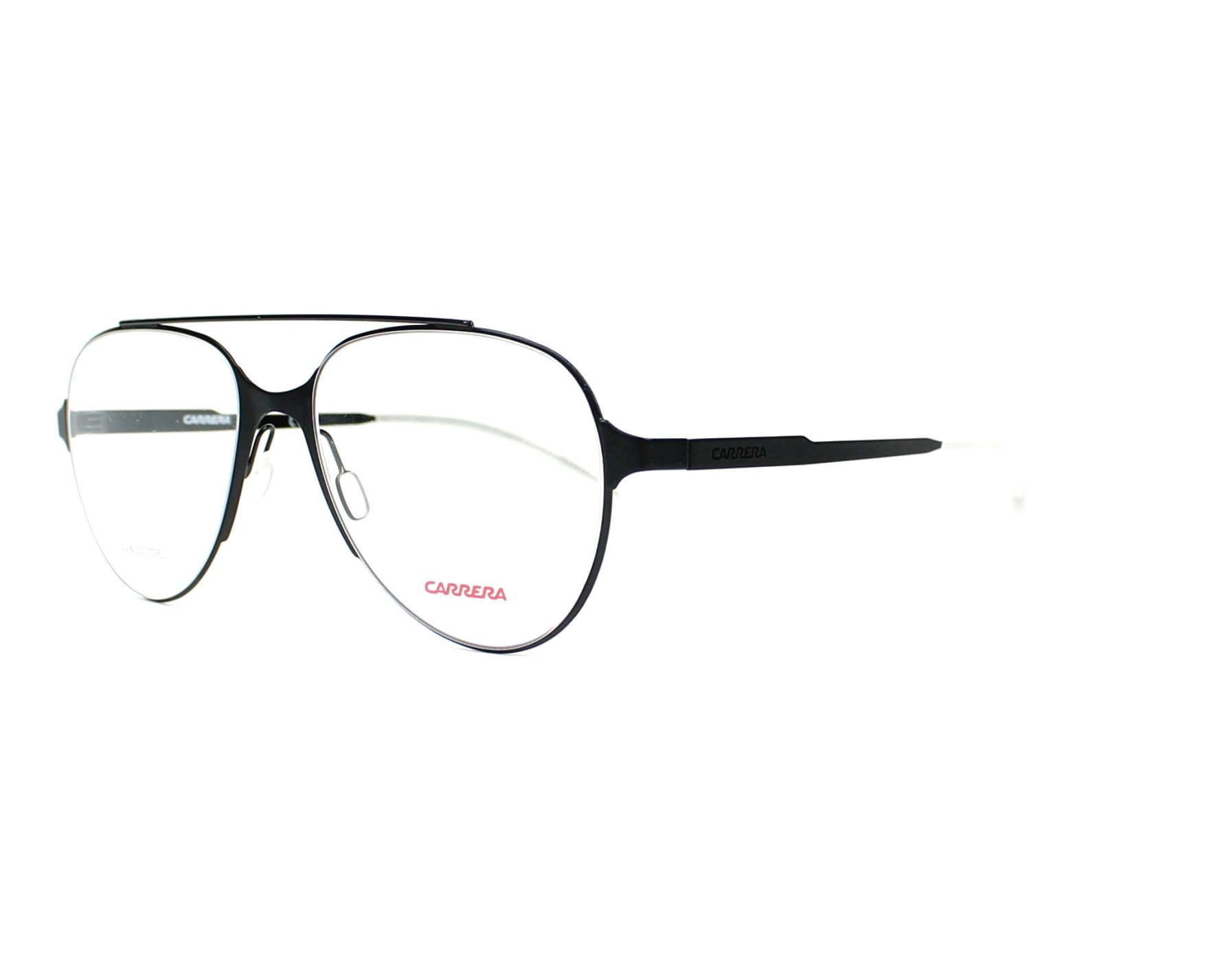 e2b212e3e41a eyeglasses Carrera CA-6663 ECK 53-17 Black profile view