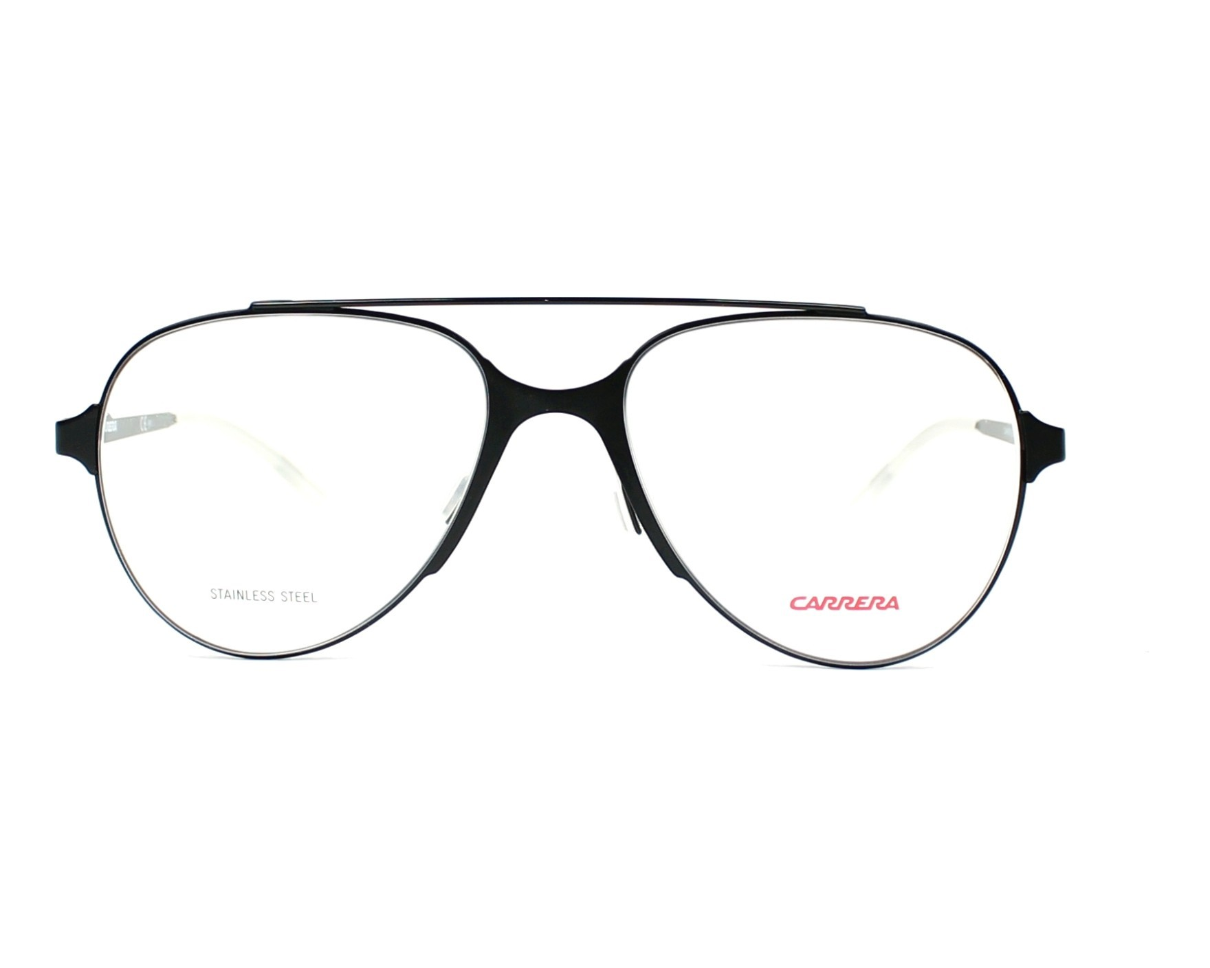 7d0980360270 eyeglasses Carrera CA-6663 ECK 53-17 Black front view