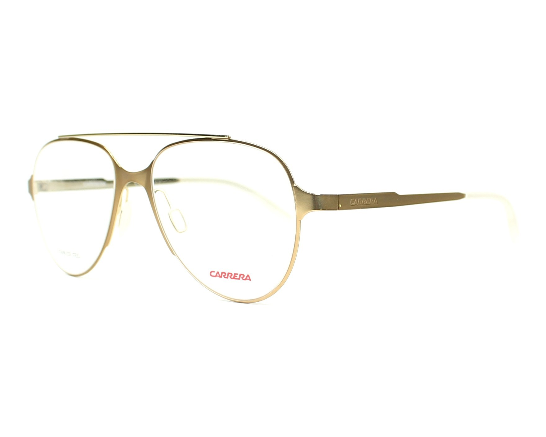 0410a10c2b31 eyeglasses Carrera CA-6663 GMO 53-17 Gold profile view