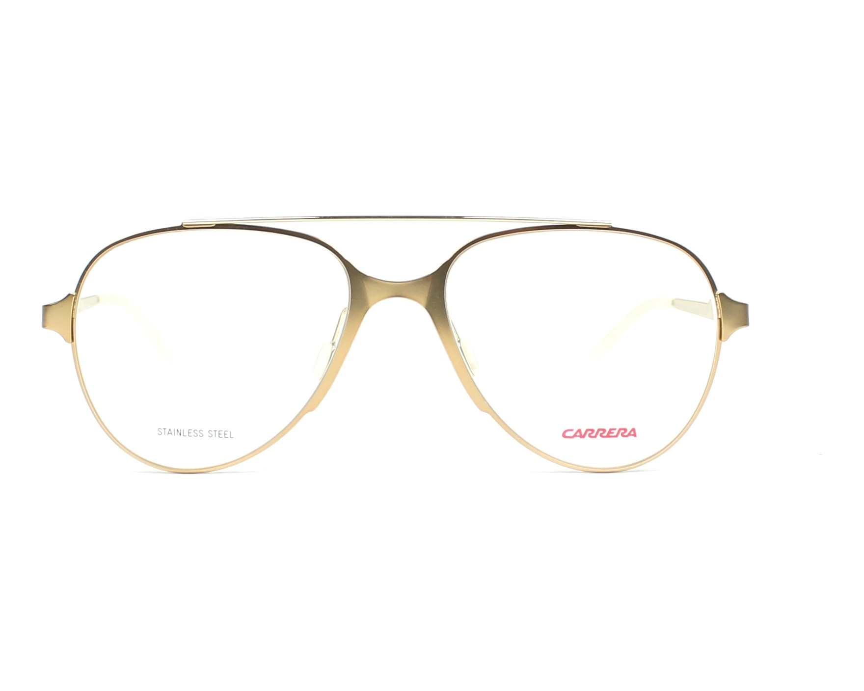 010040d81ab2 eyeglasses Carrera CA-6663 GMO 53-17 Gold front view