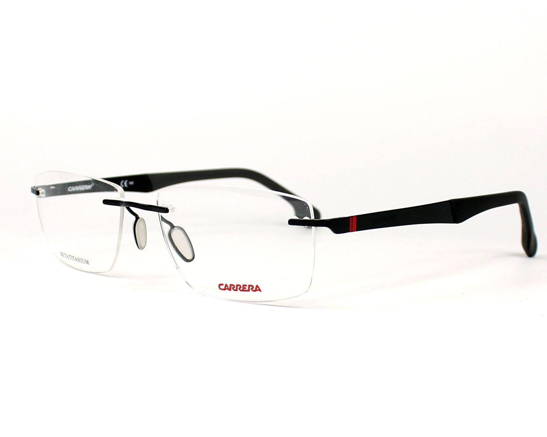 Carrera Eyeglasses Black Ca 8823 V 807 Visionet Us