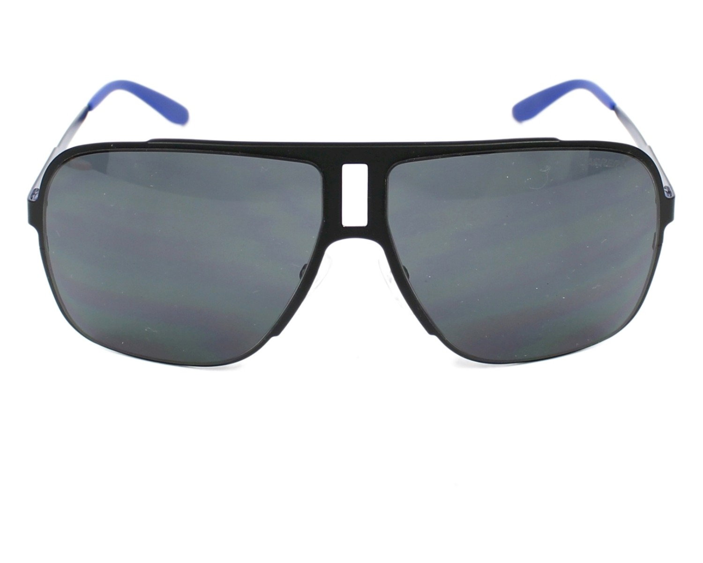 7ac830dd7f thumbnail Sunglasses Carrera Carrera-121-S 003/IR - Black Blue front view