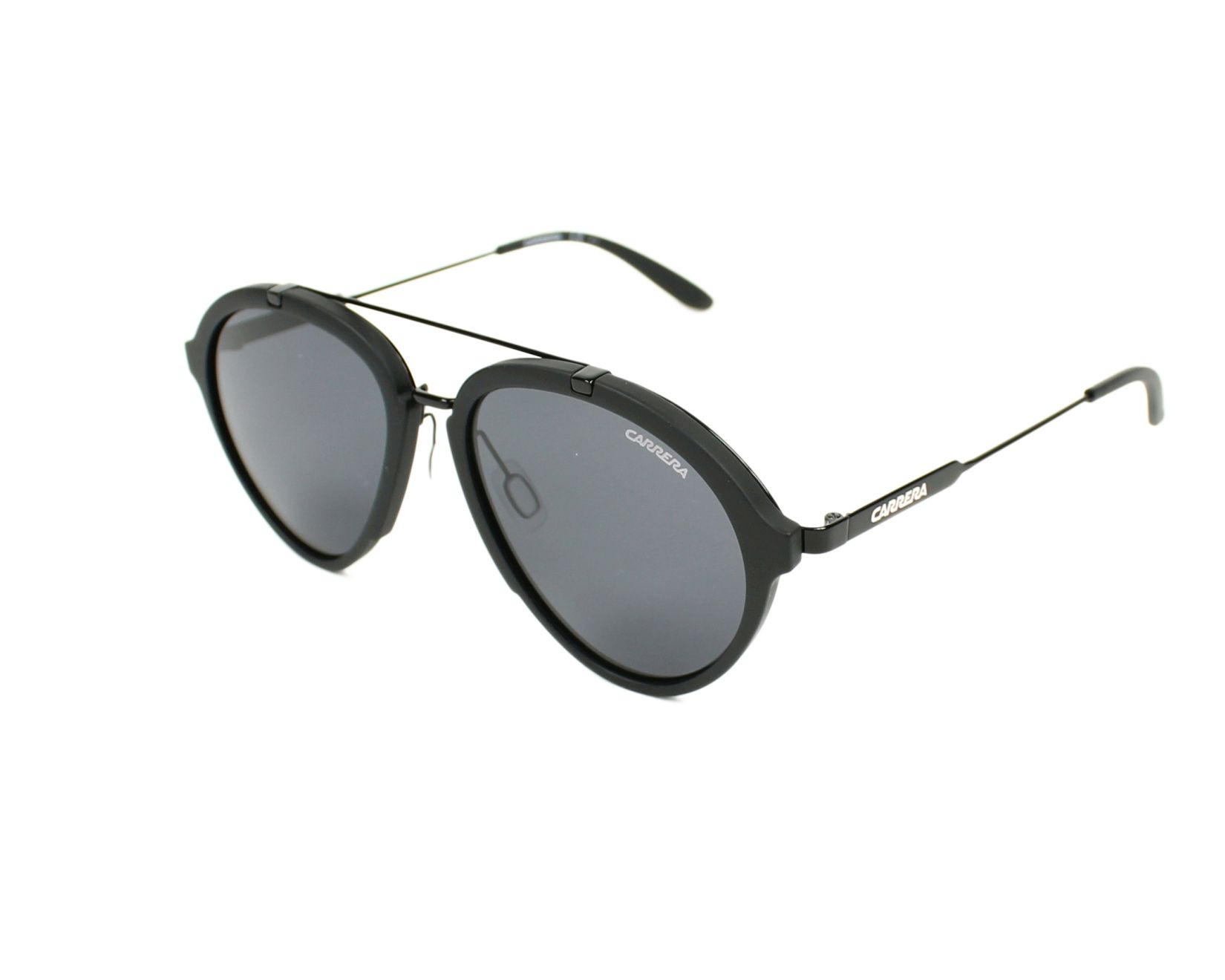 69ccffcbb1 thumbnail Sunglasses Carrera Carrera-125-S GTN IR - Black profile view