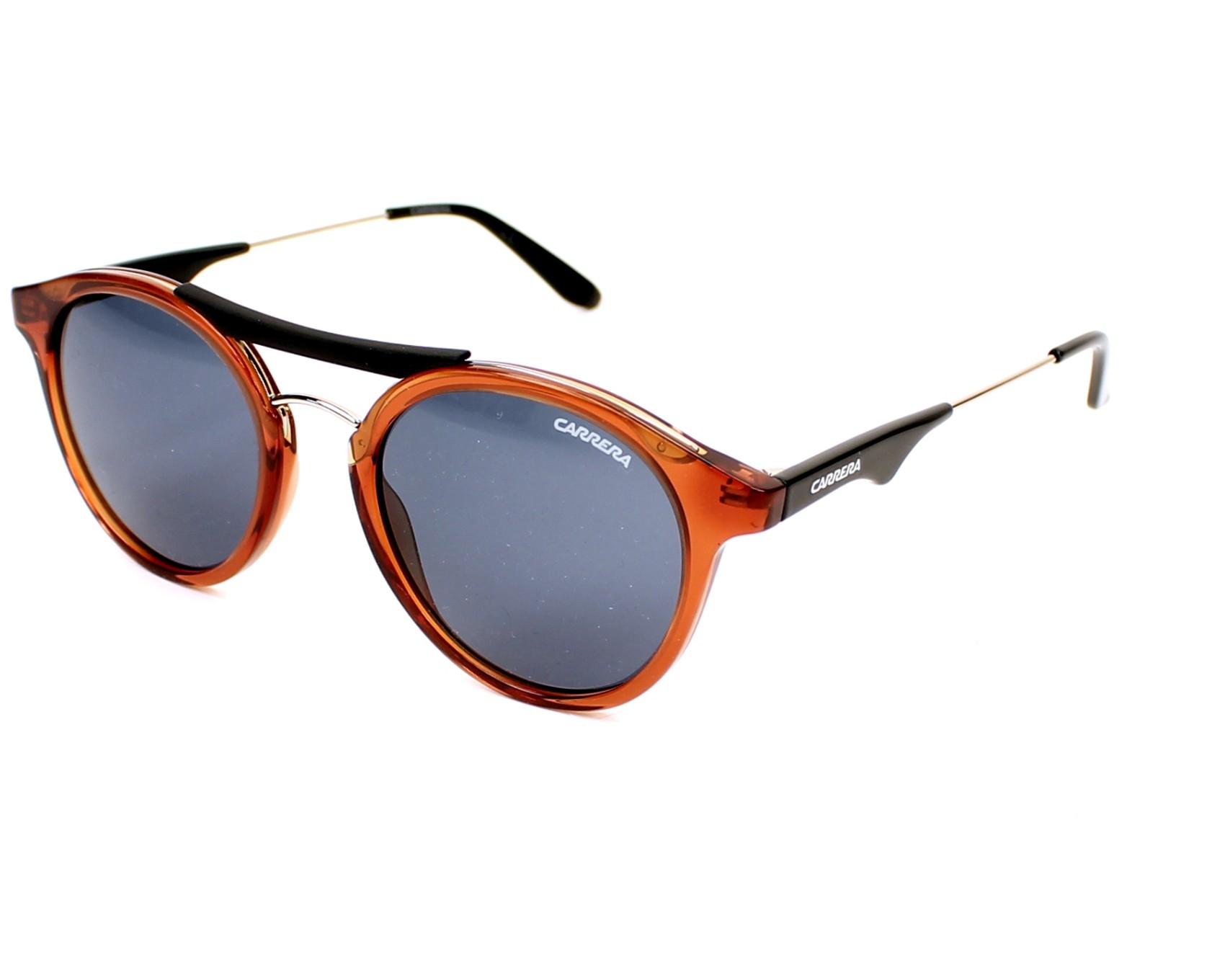 f41facb20aa8 Sunglasses Carrera Carrera-6008 TJF NL 50-21 Brown Black profile view