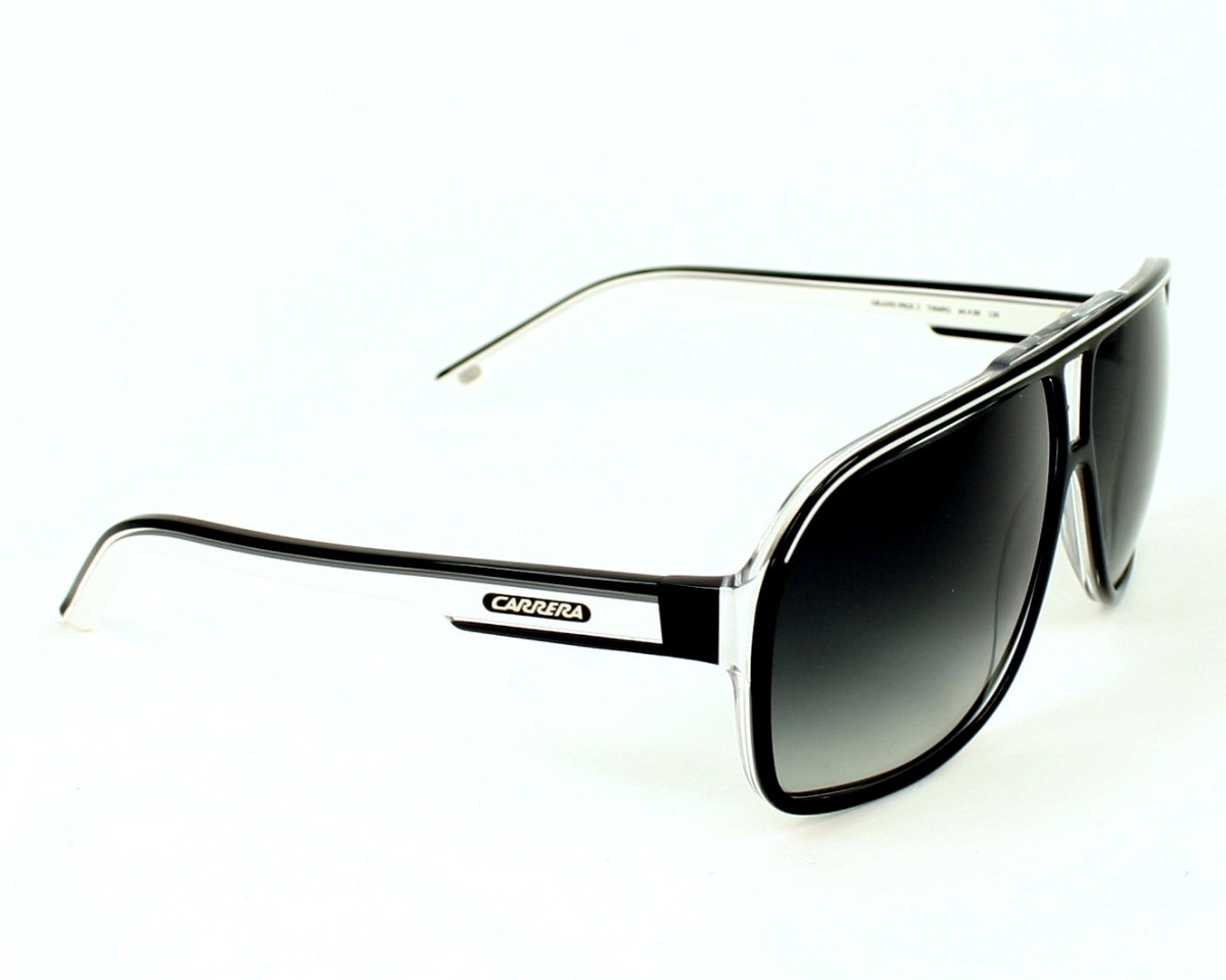 9855634f5e Sunglasses Carrera Grand-Prix-2 T4M 90 64-9 Black White side