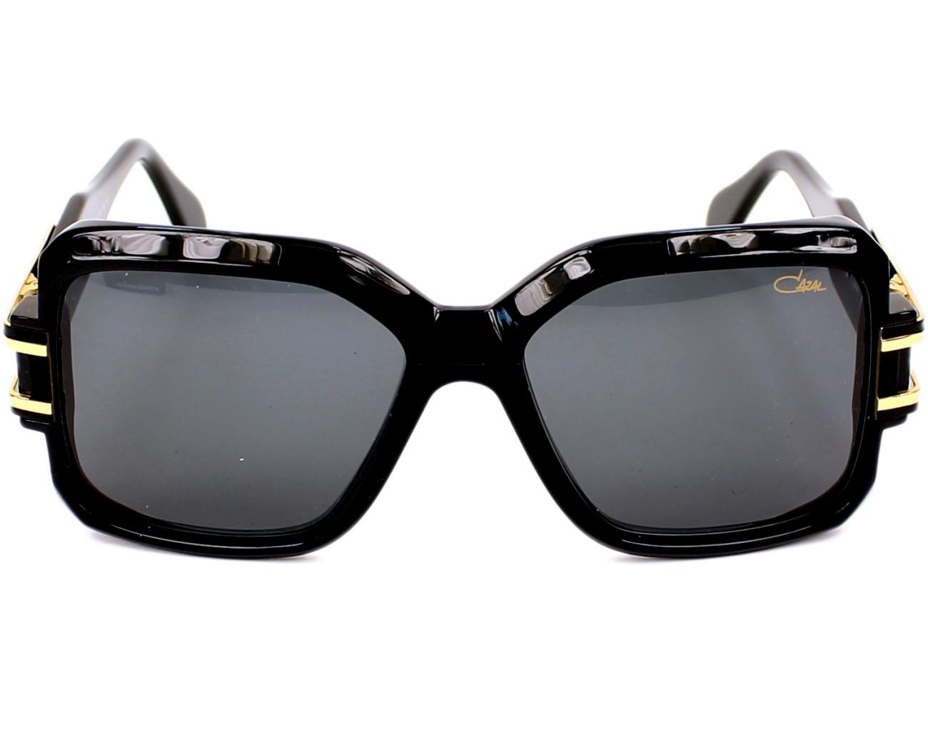 e97fe3485d1c Sunglasses cazal black gold front view jpg 1300x1040 Cazal 623