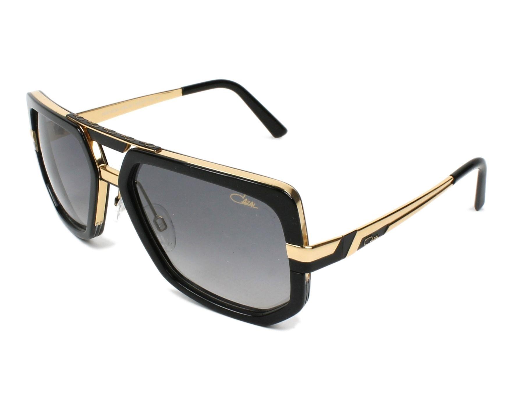 Cazal Sunglasses Black with Grey Lenses 662-3 001 ...