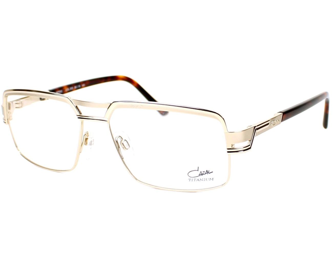 c3879e0e71b3 eyeglasses Cazal 7053 003 - Gold Gold profile view